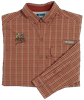 QF Columbia Sharptail Shirt - Rust