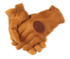 QF Upland Deerskin Shooting Gloves