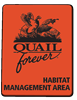 QF Habitat Management Area Sign