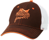 PF Brown/White Meshback Cap