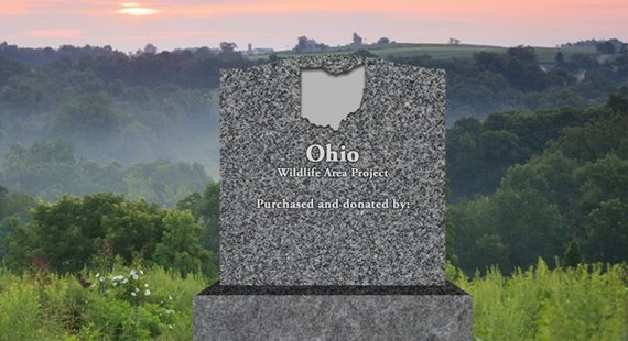 Donors to Quail Forever's first Build a Wildlife Area project in Ohio will be recognized on a monument at the area.