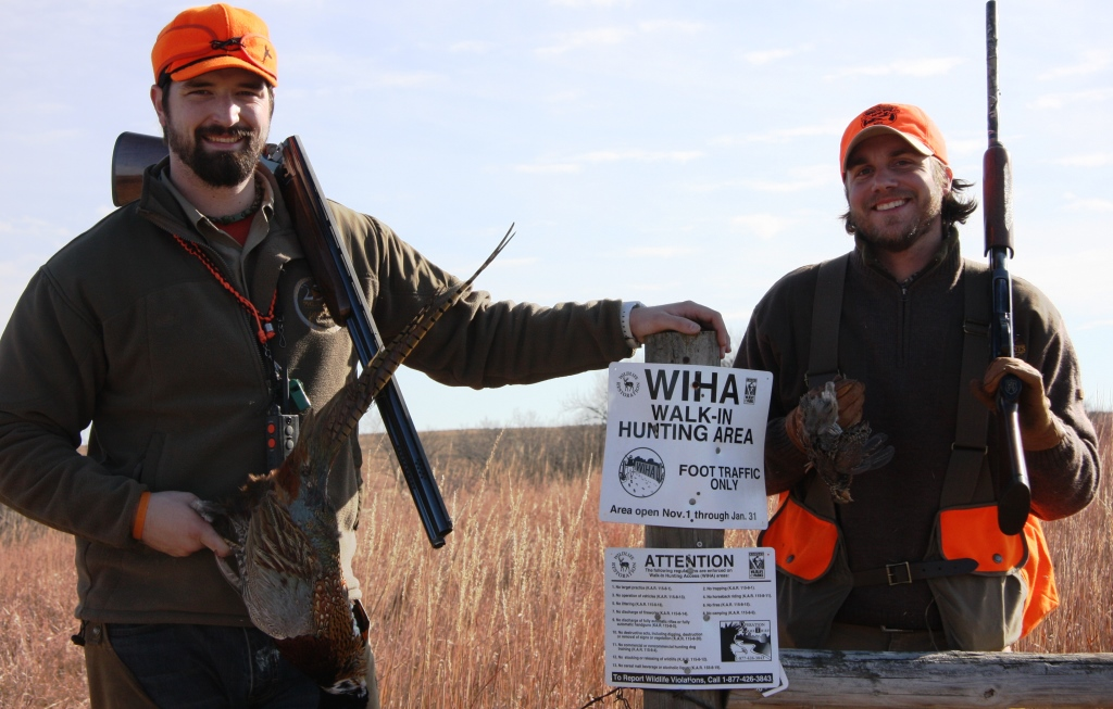 Walk-in hunting areas provide public hunting opportunities on private lands thanks to volunteer landowners.