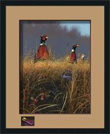 Framed Prairie Storm by Scot Storm