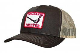 PF Richardson 112 Retro Patch Hat-Brn/Khaki-Meshback