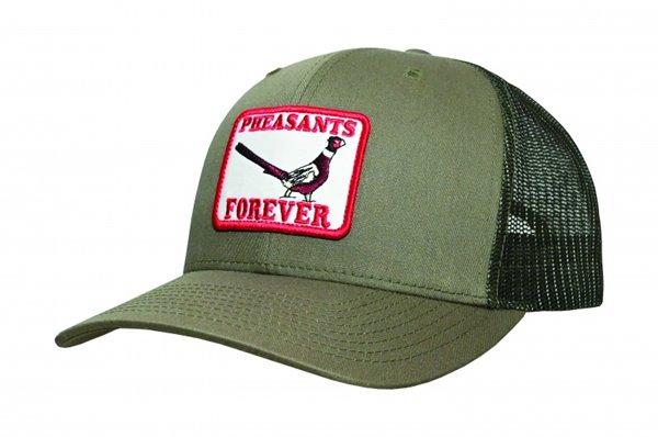 PF Richardson 112 Retro Patch Hat-Loden-Meshback