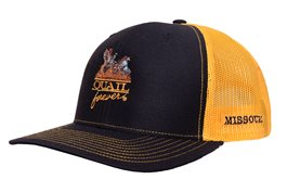 QF Missouri Black/Gold Meshback
