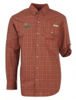 QF Coulmbia Sharptail Shirt - Rust