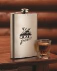 Quail Forever 8 oz Flask