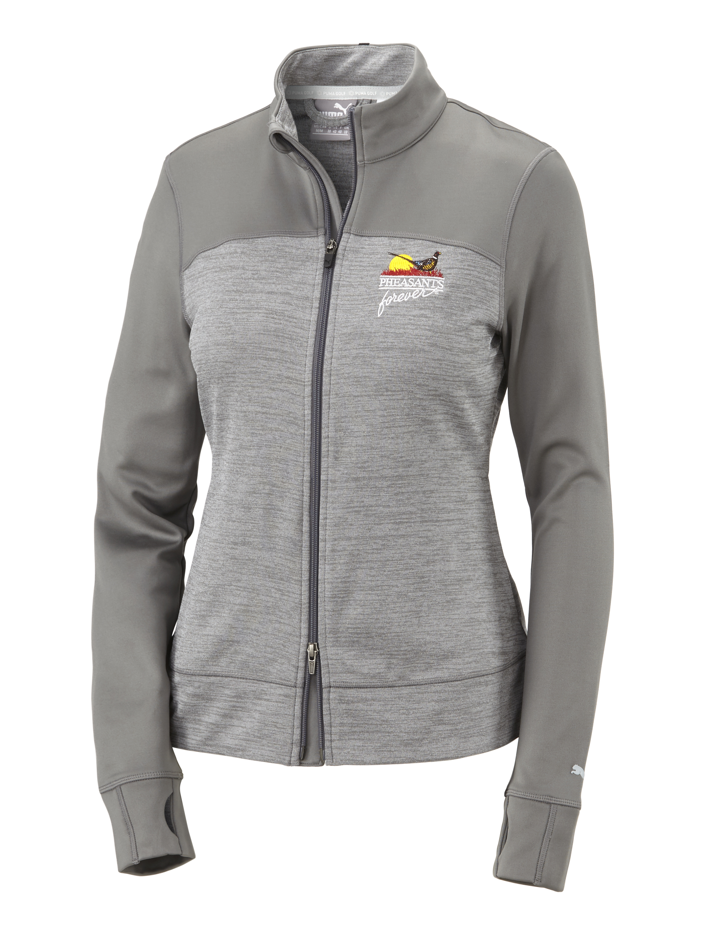 QF Puma Women's Colorblock Full Zip