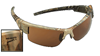 PF Solar Bat Camo Shooting Glasses