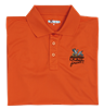 QF Antimicrobial Wicking Polo Orange