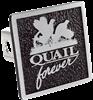 Quail Forever Aluminum Hitch Plug