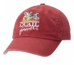 QF Red Washed Hat