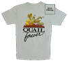 QF Logo T-Shirt - Silver