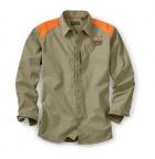 QF Orvis Lightweight Hunting Shirt - Sand/Blaze