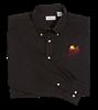 PF Van Heusen Men's Twill PF Shirt - Black