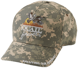 QF Saluting Our Veterans Digital Camo Hat