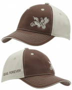 QF Double Down Brown/Tan Hat