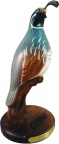 Valley King Quail Woodcarving