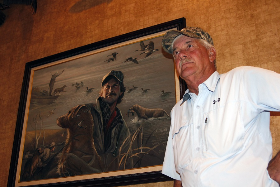 Wicker Bill is a Pierre hunting legend. A painted portrait of him hangs in a local hotel.