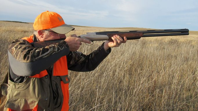 Gun Digest's Jim Schlender shoots the 828U.