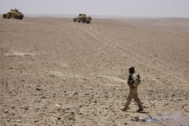 Serving in Afghanistan