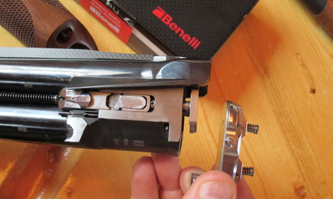 A lockplate absorbs recoil as well as impact that that would otherwise loosen the receiver.