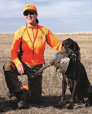 Nancy Anisfield, Pheasants Forever board member and chair of the board's governance committee