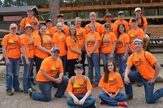 Pheasants Forever's National Youth Leadership Council has worked on  important issues such as bringing attention to the federal Farm Bill and state legislation to reduce age restrictive barriers to introduce young people to hunting.