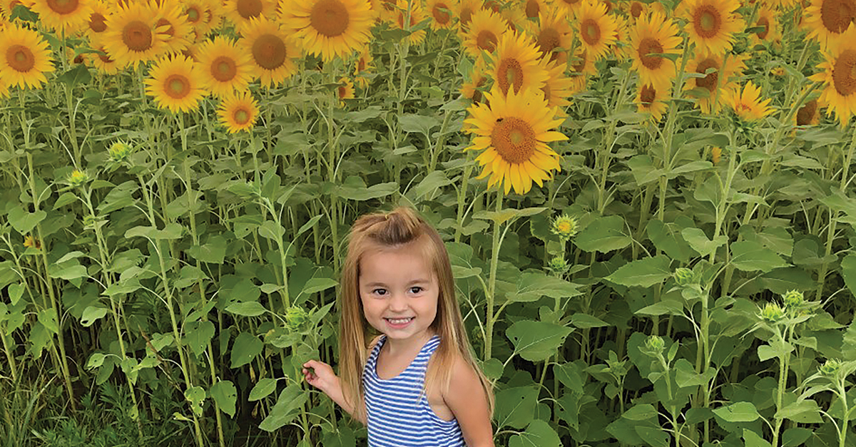Sunflower Girl by Tyler Hunt – Dove Kandy – OH