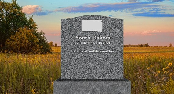 Donors to Quail Forever and Pheasants Forever's first Build a Wildlife Area project in South Dakota will be recognized on a monument at the area.