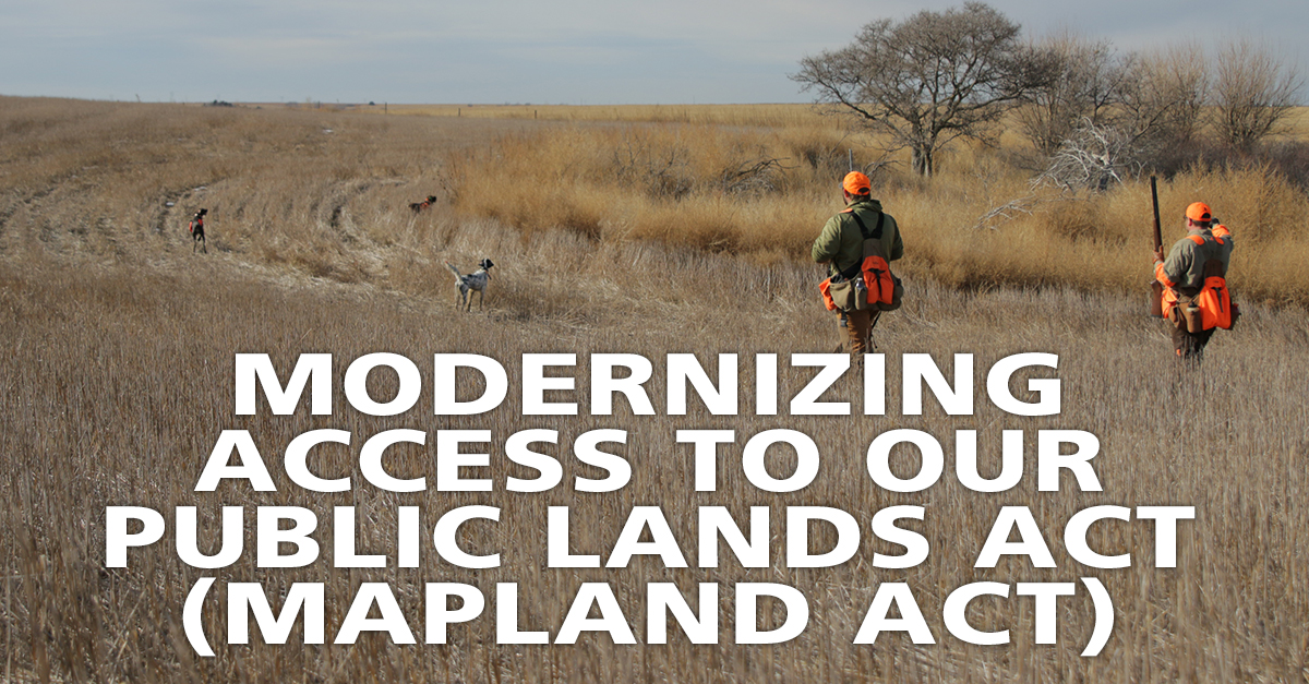 Modernizing Access to our Public Lands Act