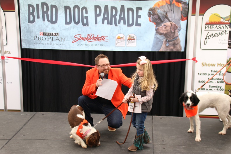 The annual Bird Dog Parade kicked off Pheasant Fest 2018 in Sioux Falls.