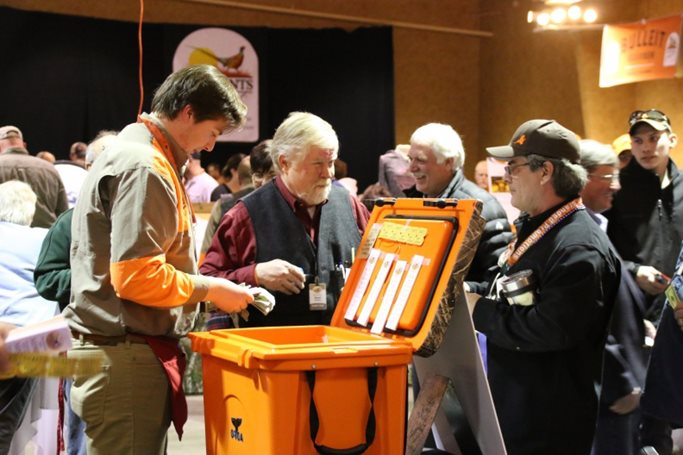 Saturday night's banquet was Pheasants Forever's biggest ever.