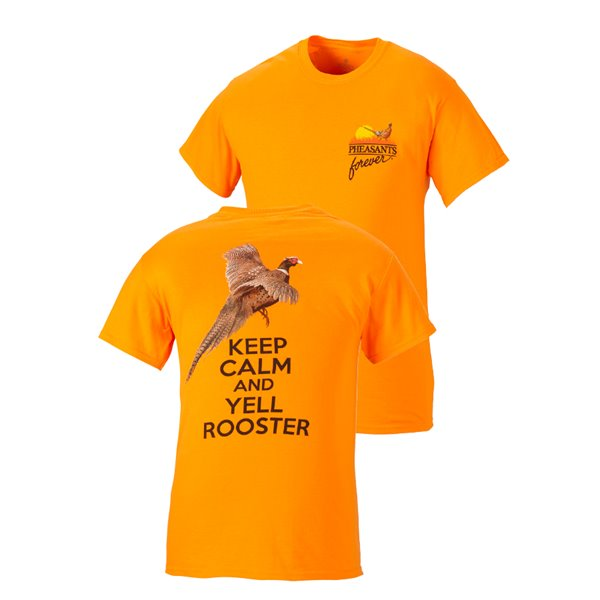 Keep Calm and Yell Rooster Tee