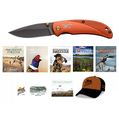 Rooster Booster Membership + Browning Prism 3 Knife