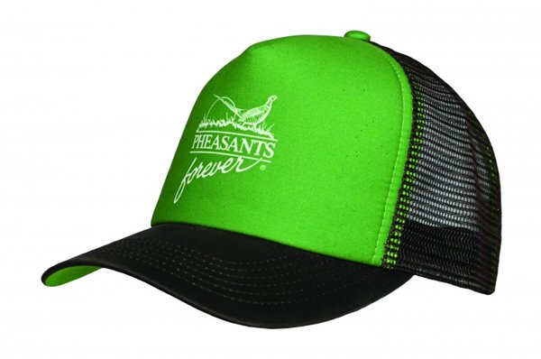 PF Farmer Brown Foam Hat-Grn/Brwn-Meshback