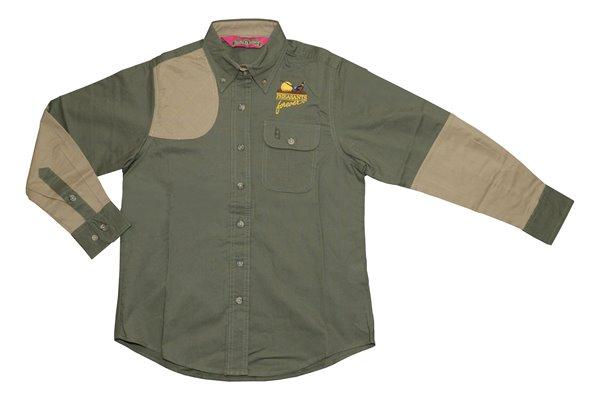PF Boyt Womens High Prairie Hunting Shirt - Green/Tan