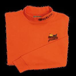 PF Beretta Men's Mock Turtleneck - Orange