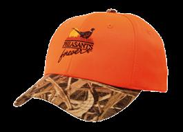 PF Orange Camo Brim Cap