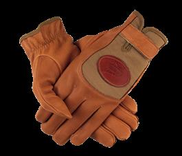 PF Deerskin Mesh Shooting Gloves