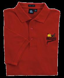 PF Dunbrooke Men's Omni Polo - Red
