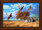 Framed Thunder Creek - Canvas by David Maas