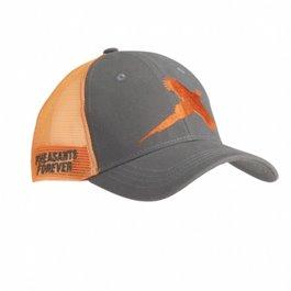 Flush Pheasant Gray/Orange Mesh Cap