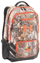 480158e7bdac Under Armour Hustle Backpack Realtree Xtra/Dynamite
