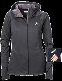 Columbia Women's Saturday Trail Hooded Jacket- Black