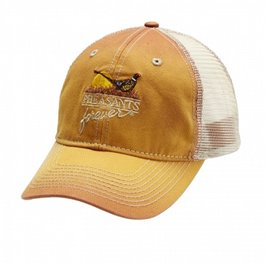 Burnt Orange/Tan Meshback Cap