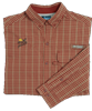 PF Columbia Men's Sharptail Shirt - Rusty Check