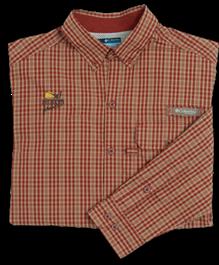 PF Columbia Men's Sharptail Shirt - Rusty Check
