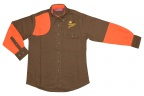 PF Boyt Womens High Prairie Hunting Shirt - Coffee/Orange